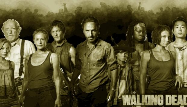 Los creadores y protagonistas de \'The Walking Dead\'\