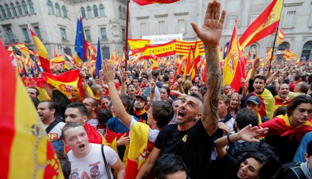 Disturbios en Cataluña por el referendo independentista