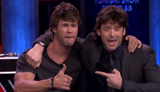 Chris Hemsworth y Hugh Jackman