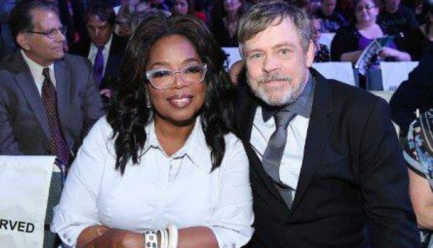 Mark Hamill y Oprah