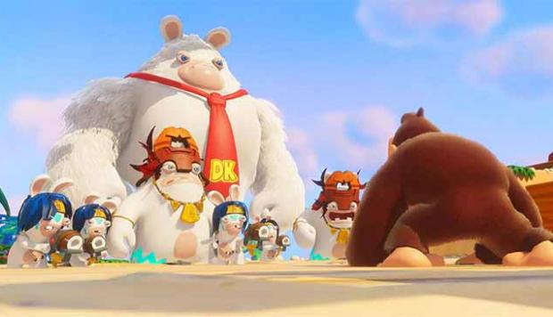 Mario+Rabbids Kingdom Battle Donkey Kong Adventure