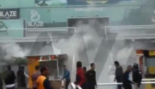 Incendio fue controlado. (Foto: Captura ATV+)