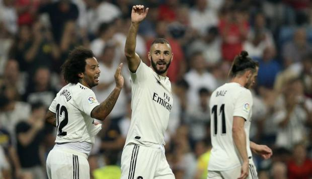 Real Madrid se mide al Athletic Club por Liga Santander (Foto: AP).