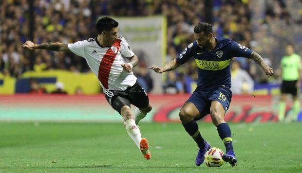 Se suspendió la final entre Boca y River
