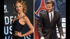 ¿Taylor Swift y David Beckham juntos en el cine?