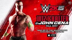John Cena y Wiz Khalifa lanzaron las canciones 'All day' y 'Breaks'