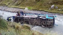 Sutran inhabilitó a conductores y suspendió bus del accidente en Cusco que dejó 23 muertos