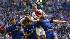 Chelsea y Arsenal igualaron 0-0 en Stamford Bridge por la Premier League