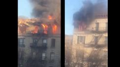 ¡Alerta! Se reporta voraz incendio en edificio de Manhattan [FOTOS Y VIDEO]