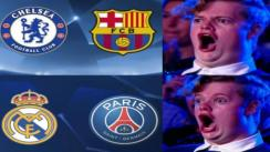 Los divertidos memes tras conocer las llaves de los octavos de final de la Champions League [FOTOS]
