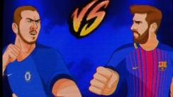 Round 1, Fight! La Champions League al estilo Street Fighter [VIDEO]