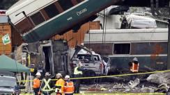 Un tren se descarrila en Washington y deja seis muertos [FOTOS]
