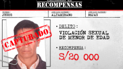 Capturan a dos requisitoriados por violación [FOTOS]