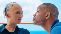 Will Smith tuvo cita con 'Sophia, la robot' y esta fue su reacción [VIDEO]