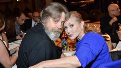 "Mark Hamill: ""Carrie Fisher es irremplazable"" [FOTOS]"