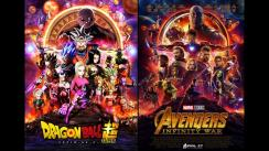 'Avengers: Infinity War' y 'Dragon Ball Super' se fusionan en un divertido afiche [VIDEO]