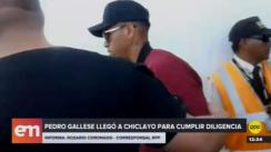 Pedro Gallese llegó a Chiclayo para someterse a examen de ADN [VIDEO]