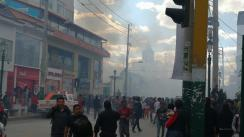 Incendio consume tres locales comerciales en Huancayo [VIDEO]