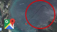 Google Maps: ¿legendaria 'serpiente marina' aparece en medio del Oke Bay? | FOTOS