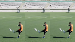 ¡Eso es precisión! Messi realiza impresionante 'huacha' a larga distancia [VIDEO]