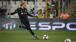 Lo persigue la mala racha: El nuevo error de Karius en su debut con Besiktas [VIDEO]