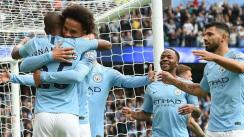 Manchester City goleó 5-0 al Cardiff City por la Champions League