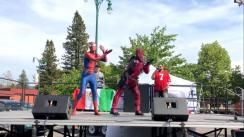 YouTube: 'Spider-Man' y 'Deadpool' hacen reír a miles de usuarios al realizar singular coreografía | VIDEO