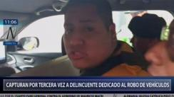 Capturan a presunto implicado en robo de furgoneta en Los Olivos [VIDEO]