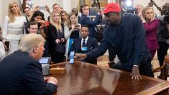 Kanye West y Kid Rock se reúnen con Donald Trump en la Casa Blanca | FOTOS
