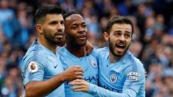 Manchester City aplastó 5-0 al Burnley en el Etihad Stadium por la Premier League