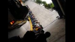 Bus del Metropolitano quedó varado en plena vía cerca a la Estación Central [VIDEO]