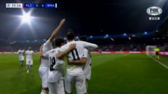 Real Madrid vs. Viktoria Plzen: los goles de Karim Benzema y Gareth Bale [VIDEO]