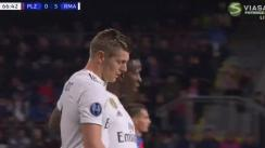 Real Madrid vs. Viktoria Plzen: Revive el golazo de Toni Kroos tras asistencia de Vinicius Junior [VIDEO]