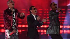 Marc Anthony, Will Smith y Bad Bunny interpretaron por primera vez 'Está rico'