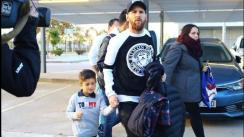Lionel Messi va rumbo al River Plate vs. Boca Juniors