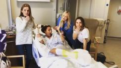 Spice Girls visitaron a Mel B tras su cirugía de emergencia [FOTOS Y VIDEO]