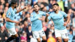 Manchester City derrotó 3-1 al Everton por la Premier League
