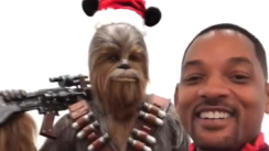 Will Smith y su hilarante video hablando como Chewbacca de
