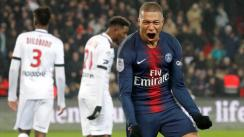 Kylian Mbappé anotó 'hat-trick' en el PSG-Guingamp y es el goleador de la Ligue 1 [VIDEO]