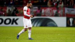 Arsenal vs. Bate Borisov: el codazo de Lacazette a rival que le costó la expulsión en Europa League | VIDEO