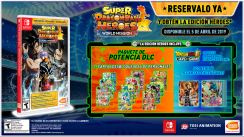 'Super Dragon Ball Heroes World Mission' tendrá una edición exclusiva para Nintendo Switch [VIDEO]