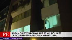 Roban objetos por más de US$25 mil en edificio de Miraflores [VIDEO]