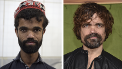 Paquistaní salta a la fama por su parecido con actor de Game of Thrones