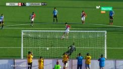 Perú vs. Uruguay: Óscar Pinto anotó el 1-1 de penal | VIDEO