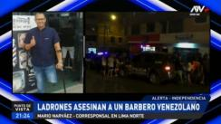Asesinan a barbero venezolano en el interior de su local en independencia