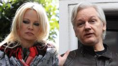 Pamela Anderson visita a Julian Assange en cárcel de Londres [VIDEO]