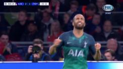 Ajax vs. Tottenham: Lucas Moura firmó el 2-2 con golazo y da vida a 'Spurs' en Champions League | VIDEO