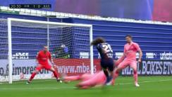 Barcelona vs. Eibar: Cillessen no pudo contener tremendo disparo de Cucurella para el 1-0 | VIDEO