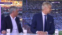 Mira las reacciones de Mourinho y Wenger al escuchar el 'You'll Never Walk Alone' en Madrid | VIDEO