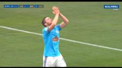 Sporting Cristal vs. Binacional: Gallardo decretó el 2-1 para los celestes | VIDEO